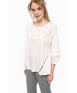 Pennyblack | Хлопковая Блуза С Отделкой Бисером