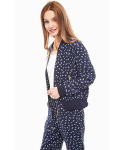 Michael Michael Kors | Легкая Синяя Куртка С Цветочным Принтом