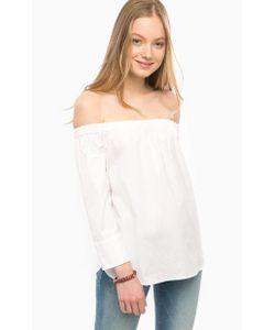 Mavi | Хлопковая Блуза С Открытыми Плечами