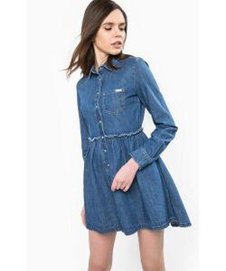 Guess | Платье Из Денима На Кнопках