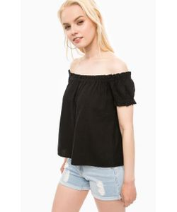 Vero Moda   Черная Блуза На Резинке