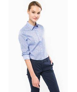 Gant | Приталенная Рубашка С Закругленным Низом