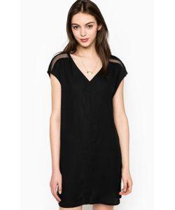 Maison Scotch | Короткое Черное Платье С Кулоном