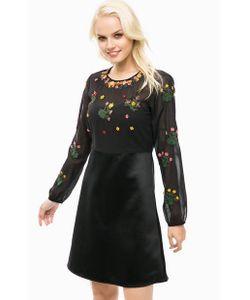 Pennyblack | Черное Платье С Декором