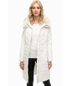 Twin-Set Simona Barbieri | Куртка Со Съемным Капюшоном И Меховой Отделкой