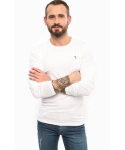 Trussardi Jeans | Хлопковая Футболка С Длинными Рукавами