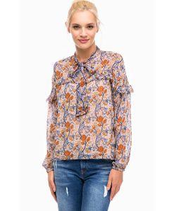 Pepe Jeans London | Блуза Из Вискозы С Цветочным Принтом