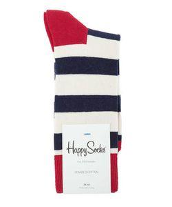 Happy Socks | Хлопковые Носки В Полоску