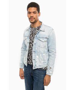 Calvin Klein Jeans | Рваная Джинсовая Куртка На Болтах