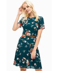 Sugarhill Boutique | Зеленое Платье С Цветочным Принтом