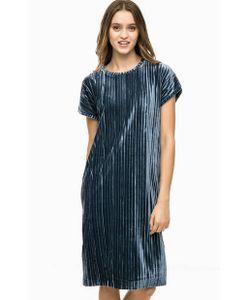 ICHI | Бархатное Платье Прямого Кроя