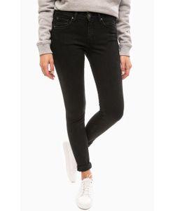 Pepe Jeans London | Черные Джинсы Скинни На Молнии