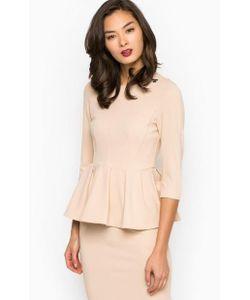 Pois | Однотонная Блуза С Баской