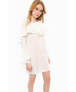 Glamorous | Короткое Платье В Горошек С Оборками