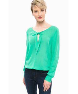 MORE&MORE | Блуза Из Вискозы С Треугольным Вырезом
