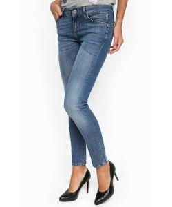 Liu •Jo Jeans | Джинсы С Заломами И Средней Посадкой