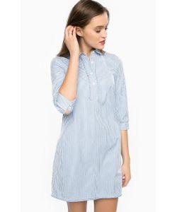 Tommy Hilfiger | Хлопковое Платье Рубашечного Кроя В Полоску