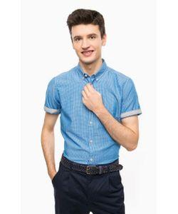 TOM TAILOR | Рубашка В Клетку С Короткими Рукавами
