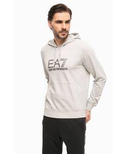 EA7 | Толстовка Из Хлопка С Логотипом Бренда