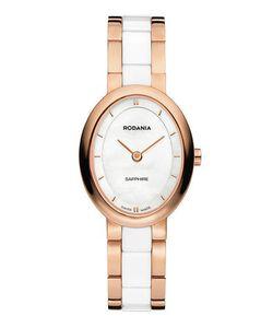Rodania | Часы Овальной Формы С Перламутрово-Белым Циферблатом