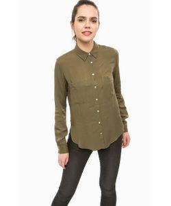 Alcott | Однотонная Блуза Из Вискозы