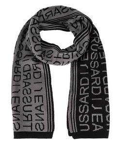Trussardi Jeans | Трикотажный Шарф С Логотипом Бренда