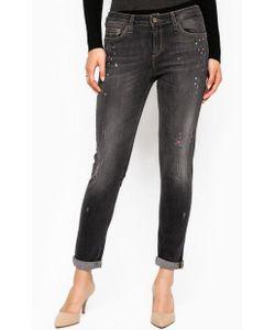 Liu •Jo Jeans | Джинсы С Потертостями И Заломами