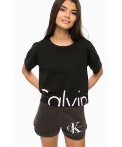 Calvin Klein Jeans | Хлопковая Футболка С Контрастным Принтом