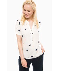 Vero Moda   Блуза Из Вискозы На Пуговицах