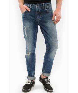 Pepe Jeans | Зауженные Книзу Рваные Джинсы