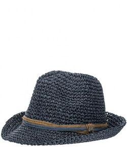 R.Mountain   Плетеная Шляпа Синего Цвета