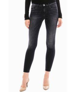 Calvin Klein Jeans   Черные Укороченные Джинсы С Карманами