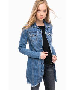 MET | Приталенное Пальто Из Денима На Болтах
