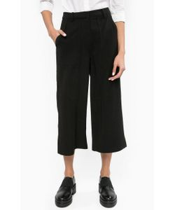 Calvin Klein Jeans   Широкие Капри Черного Цвета