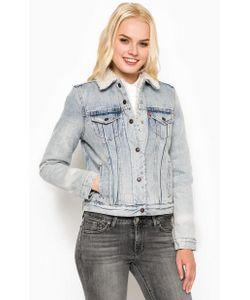 Levi's® | Утепленная Джинсовая Куртка На Кнопках