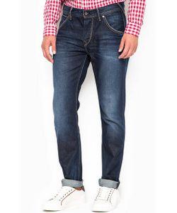 Pepe Jeans | Зауженные Джинсы С Декоративными Заломами