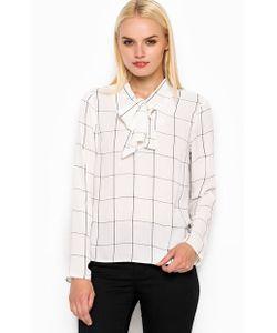 Sugarhill Boutique   Блуза Из Полиэстера С Бантом На Шее