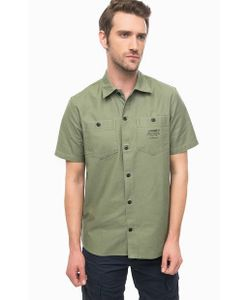Carhartt WIP | Плотная Рубашка Цвета С Нагрудными Карманами