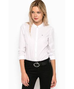 Hilfiger Denim | Приталенная Рубашка Из Хлопка