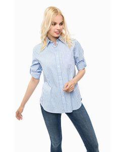 G-Star   Хлопковая Рубашка В Полоску