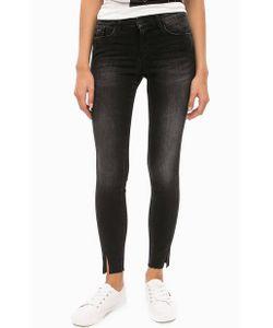 Calvin Klein Jeans | Черные Джинсы Со Средней Посадкой