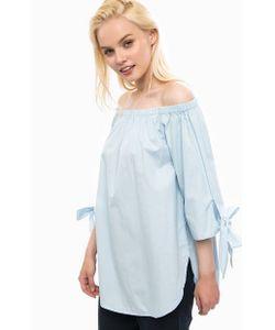 Vero Moda   Голубая Хлопковая Блуза