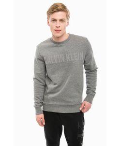 Calvin Klein Jeans   Однотонный Хлопковый Свитшот