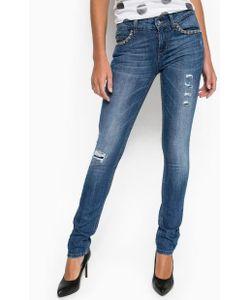 Liu •Jo Jeans | Джинсы С Заломами И Потертостями
