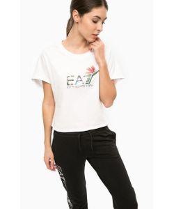 EA7   Свитшот Оригинального Кроя С Принтом