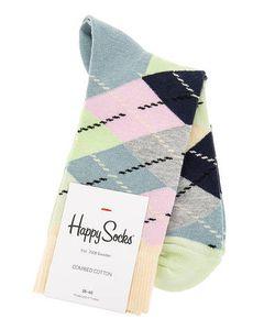 Happy Socks | Хлопковые Носки В Клетку