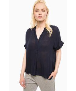 Vero Moda   Синяя Блуза Из Вискозы