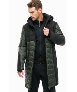 EA7 | Удлиненная Демисезонная Куртка С Капюшоном