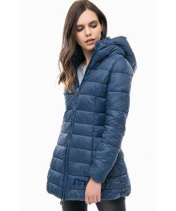 MET | Синяя Куртка Со Съемным Капюшоном