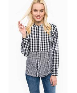 s.Oliver | Рубашка Из Хлопка В Клетку Свободного Кроя
